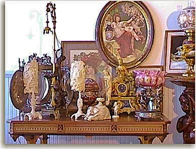 Img: A collection of antiques on a table